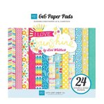 Echo Park - I Love Sunshine Collection - 6 x 6 Paper Pad