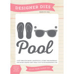 Echo Park - I Love Sunshine Collection - Designer Dies - At The Pool