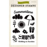 Echo Park - I Love Sunshine Collection - Clear Acrylic Stamps