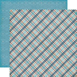 Echo Park - Jack and Jill Collection - Boy - 12 x 12 Double Sided Paper - Plaid