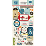 Echo Park - Jack and Jill Collection - Boy - Chipboard Stickers