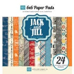 Echo Park - Jack and Jill Collection - Boy - 6 x 6 Paper Pad