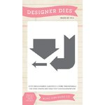 Echo Park - Jack and Jill Collection - Boy - Designer Dies - Arrows - One