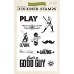 Echo Park - Jack and Jill Collection - Boy - Clear Acrylic Stamps - Such A Good Boy