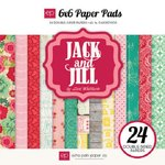Echo Park - Jack and Jill Collection - Girl - 6 x 6 Paper Pad
