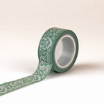 Echo Park - Jack and Jill Collection - Girl - Decorative Tape - Damask