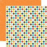 Echo Park - Little Boy Collection - 12 x 12 Double Sided Paper - Buttons