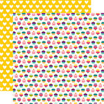 Echo Park - Little Girl Collection - 12 x 12 Double Sided Paper - Cupcake Casey