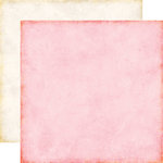 Echo Park - Love Story Collection - 12 x 12 Double Sided Paper - Light Pink