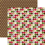 Echo Park - Merry Christmas Collection - 12 x 12 Double Sided Paper - Holly Jolly, CLEARANCE