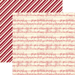 Echo Park - Merry Christmas Collection - 12 x 12 Double Sided Paper - Christmas Carol, CLEARANCE