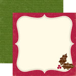 Echo Park - Merry Christmas Collection - 12 x 12 Double Sided Paper - Home for the Holidays, CLEARANCE
