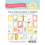 Echo Park - Hello Summer Collection - 3 x 4 Pocket Page Cards - Memos
