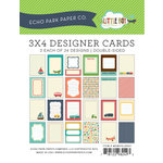 Echo Park - Little Boy Collection - 3 x 4 Pocket Page Cards - Memos