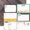 Echo Park - Made From Scratch Collection - 12 x 12 Double Sided Paper - Recipe Cards