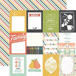 Echo Park - Made From Scratch Collection - 12 x 12 Double Sided Paper - 3 x 4 Journaling Cards