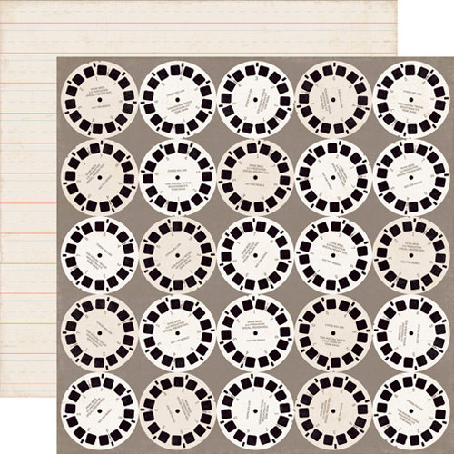 Echo Park - Note to Self Collection - 12 x 12 Double Sided Paper - Viewmaster