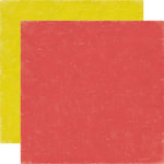 Echo Park - Paper and Glue Collection - 12 x 12 Double Sided Paper - Red