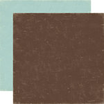 Echo Park - Paper and Glue Collection - 12 x 12 Double Sided Paper - Brown