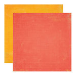 Echo Park - Paradise Beach Collection - 12 x 12 Double Sided Paper - Red