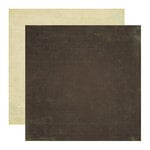 Echo Park - Paradise Beach Collection - 12 x 12 Double Sided Paper - Brown