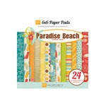 Echo Park - Paradise Beach Collection - 6 x 6 Paper Pad