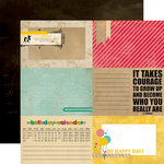 Echo Park - Birthday Wishes Collection - 12 x 12 Double Sided Paper - RSVP