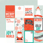 Echo Park - Dear Santa Collection - Christmas - 12 x 12 Double Sided Paper - Let It Snow