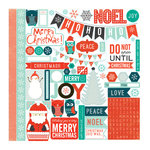Echo Park - Dear Santa Collection - Christmas - 12 x 12 Cardstock Stickers - Elements