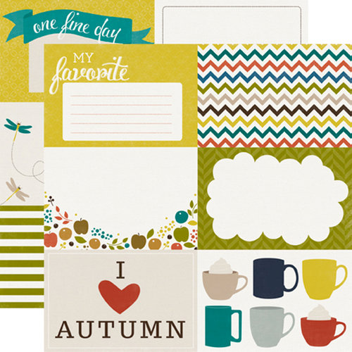Echo Park - Oh So Thankful Collection - 12 x 12 Double Sided Paper - My Favorite