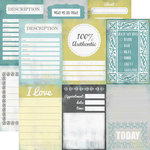 Echo Park - Happy Little Moments Collection - 12 x 12 Double Sided Paper - I Love