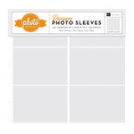 Echo Park - Photo Freedom - 12 x 12 Designer Photo Sleeves - 4 x 6 Horizontal Page Protectors - 10 Pack