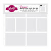 Echo Park - Photo Freedom - 12 x 12 Designer Photo Sleeves - 4 x 6 and 3 x 4 Page Protectors - 10 Pack