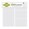 Echo Park - Photo Freedom - 12 x 12 Designer Photo Sleeves - 6 x 12 Page Protectors - 10 Pack