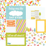 Echo Park - Fun in the Sun Collection - 12 x 12 Double Sided Paper - Easy Breezy