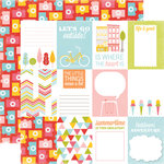 Echo Park - Fun in the Sun Collection - 12 x 12 Double Sided Paper - Outside