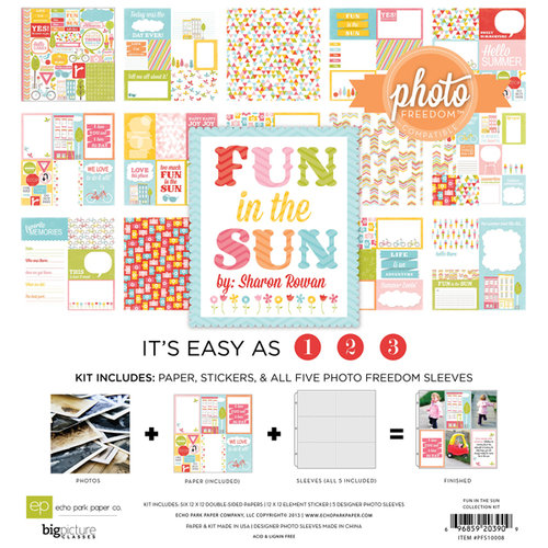 Echo Park - Fun in the Sun Collection - 12 x 12 Collection Kit