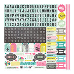 Echo Park - Today's Story Collection - 12 x 12 Cardstock Stickers - Elements