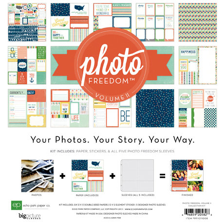 Echo Park - Photo Freedom Volume 2 Collection - 12 x 12 Collection Kit
