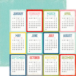 Echo Park - Photo Freedom Volume 1 Collection - 12 x 12 Double Sided Paper - Calendars