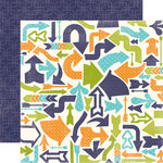 Echo Park - Playground Collection - 12 x 12 Double Sided Paper - Kick the Can