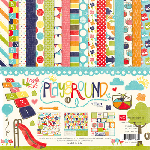Echo Park - Playground Collection - 12 x 12 Collection Kit