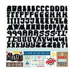 Echo Park - Pirates Life Collection - 12 x 12 Cardstock Stickers - Alphabet