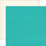 Echo Park - Pirates Life Collection - 12 x 12 Double Sided Paper - Teal