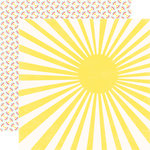 Echo Park - A Perfect Summer Collection - 12 x 12 Double Sided Paper - Sunshine