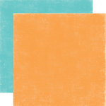 Echo Park - A Perfect Summer Collection - 12 x 12 Double Sided Paper - Orange