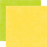 Echo Park - A Perfect Summer Collection - 12 x 12 Double Sided Paper - Yellow