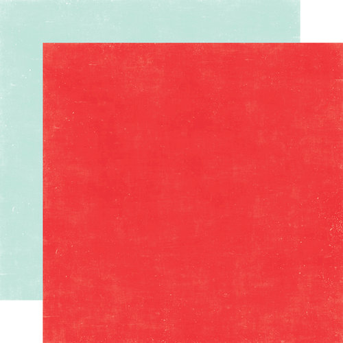Echo Park - A Perfect Summer Collection - 12 x 12 Double Sided Paper - Red