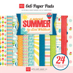 Echo Park - A Perfect Summer Collection - 6 x 6 Paper Pad
