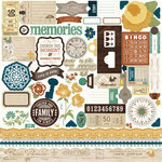 Echo Park - Reflections Collection - 12 x 12 Cardstock Stickers - Elements